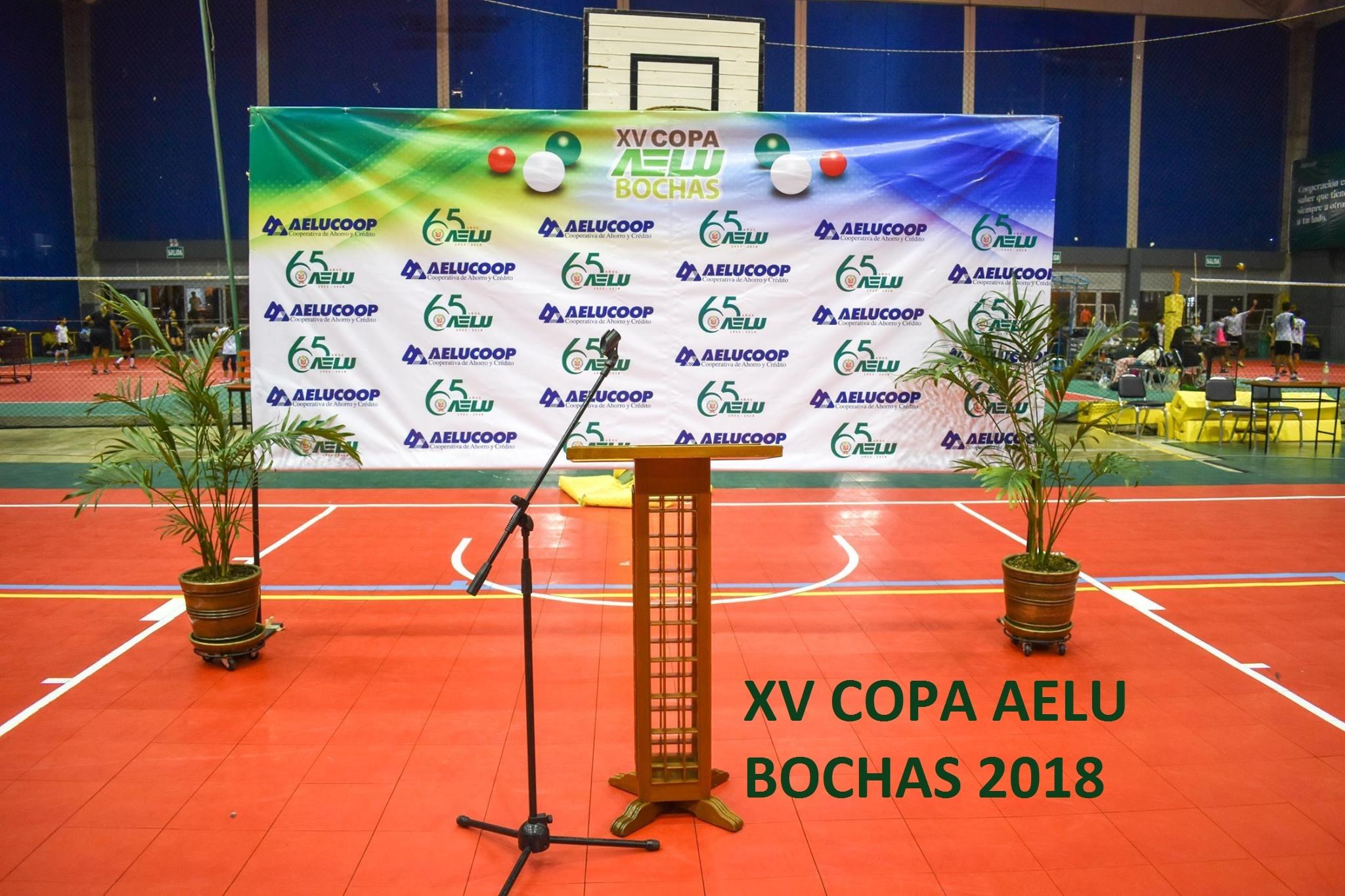 Bochas – Copa AELU XV 2018